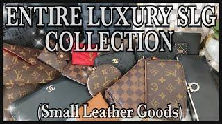 ENTIRE LUXURY SLG COLLECTION 2019 | CHANEL, FENDI, HERMES, LOUIS VUITTON, YSL, ETC. | GINALVOE