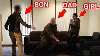 Catching a Child Predator - SON CATCHES DAD IN THE ACT (Social Experiment)