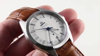 Omega Constellation Globemaster Annual Calendar 130.33.41.22.02.001 Luxury Watch Review