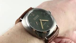 Panerai Radiomir 8-Days PAM 735 Luxury Watch Review