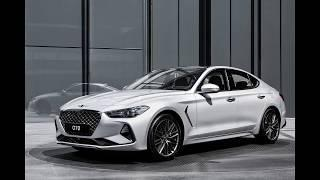 2019 Genesis G70 luxury exterior and interior
