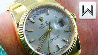 Rolex Day-Date (118238) Luxury Watch Review