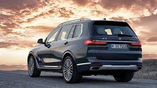 2019 BMW X7 Exterior Interior  - all new 7 seater SUV