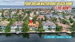 Living IN LUXURY in Southern Florida!