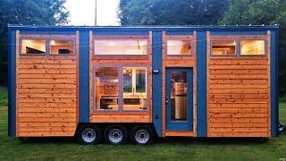 Absolutely Luxury Blue Heron Biggest Interior Tiny House Perfect for You