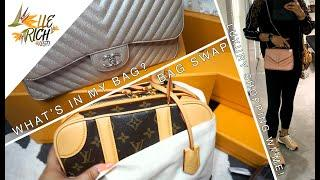 CHANEL TO LOUIS VUITTON BAG SWAP, WIMB, HAWAII EATS & LUXURY ROW SHOPPING!