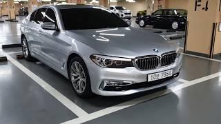 BMW 520i Luxury 은색 Glacier Silver(A83) & Cognac Seats