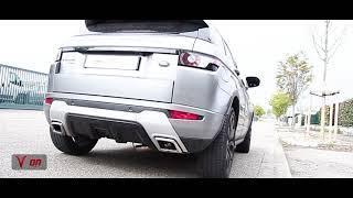 Vittorelli Exhausts Range Rover Evoque 2.0 valve clapet