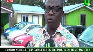Luxury vehicle tax: Car dealers to embark on demo March 7