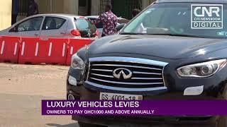 Collection of luxury vehicles taxes begins