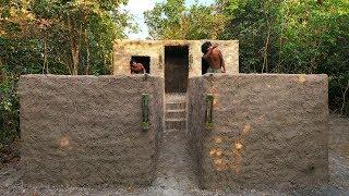 Build luxury twin villas for Ancient lifestyle By Primitive Skills