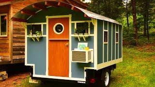 Gorgeous Tiny House Gypsy Wagon Camper Custom Luxury Vardo Caravan