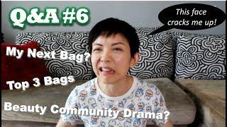 Top 3 Luxury Bags, Beauty Community Drama? | Q&A #6 | Kat L