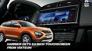 2019 Tata Harrier Touchscreen Vendor Is same As Range Rover Velar Luxury SUV