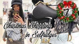 VLOGMAS TWO | Luxury Christmas Shopping in Selfridges | What I'm buying for Christmas!