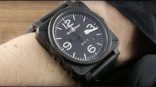 Bell & Ross Instrument BR03-92 Matte Black (BR0392-BL-CE) Luxury Watch Review