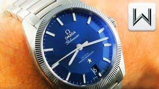 Omega Constellation Globemaster BLUE DIAL Steel Tungsten (130.30.39.21.03.001) Luxury Watch Reviews