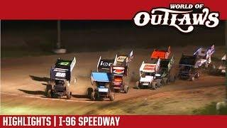 World of Outlaws Craftsman Sprint Cars I-96 Speedway June 1, 2018 | HIGHLIGHTS