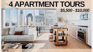 NYC APARTMENT TOUR: 4 LUXURY APARTMENTS ($5,500 -$10,000/MO) EP. 3