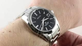 Grand Seiko Automatic SBGR053 Luxury Watch Review