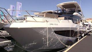 2019 Galeon 640 Luxury Yacht - Deck and Interior Walkaround - 2018 Cannes Yachting Festival