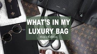 What's In My Bag 2018 (Mens Luxury Edition)