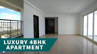 Luxury 4 BHK Apartment near Nagavara Lake, Apartment in Bangalore Apartment Tour!