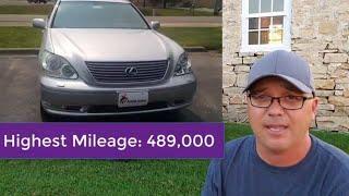 Top 5 BIG LUXURY Cars That Last 300,000 Miles
