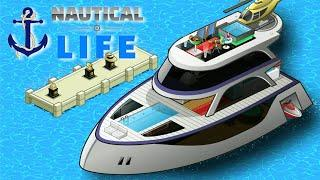 """⚓ Nautical Life ????⛵????   """"Silver Galaxy"""" Boat Interiors Preview"""