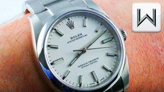 Rolex Oyster Perpetual 34mm (114200) Luxury Watch Review