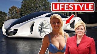 Who is Kolinda Grabar Kitarović Croatian President age Luxury Lifestyle