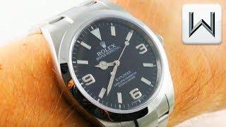 Rolex Oyster Perpetual Explorer 214270 (2010 Dial) Luxury Watch Review