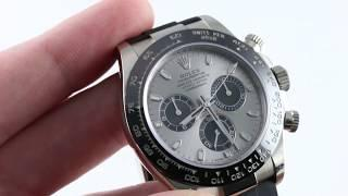 Rolex Cosmograph Daytona 116519LN Oysterflex Strap Luxury Watch Review