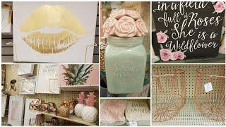 SHOP WITH ME: HOBBY LOBBY |SUPER GIRLY GLAM | SPRING LUXURY HOME DECOR FINDS & IDEAS | MAY 2018