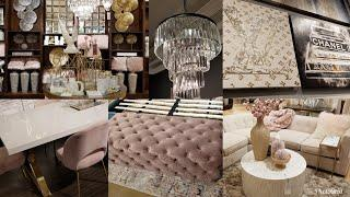 SHOP WITH ME: Z GALLERIE | LUXURY SPRING 2019 HOME DECOR TOUR | IDEAS | GLAM & GIRLY