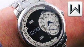 F.P. Journe Octa Calendrier Black Label Luxury Watch Review