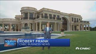 Stress in luxury real estate with mega-mansion glut