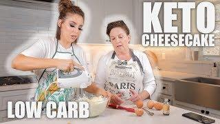 EASY KETO CHEESECAKE RECIPE | COOKING WITH CRANS