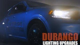 HID and LED Lighting Upgrades for Your Dodge Durango  ||  Headlight Revolution