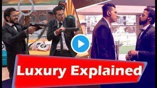 Bigg Boss 12 : Preview | Luxury Task Full Explained | Captaincy Details