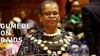 Gumede on raids: I'm still waiting for official word