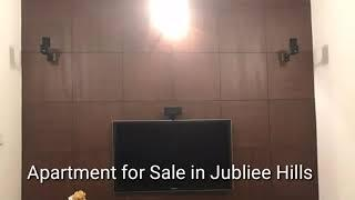 3 BHK Luxury Apartment For Sale In Jubilee Hills. #Apartmentsale