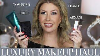 LUXURY MAKEUP HAUL at Nordstrom- Tom Ford, Armani, Oribe....