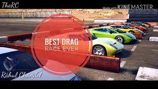 Lamborghinis' Drag Race | Rahul Chandel | Best Drag Race Ever | Luxury Cars Love