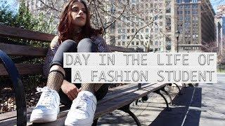 DAY IN THE LIFE OF A FASHION STUDENT- FIT NYC