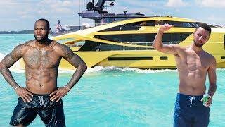 The Rich Life Of STEPHEN CURRY vs LEBRON JAMES 2018