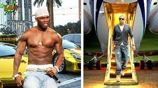 50 CENT cars, private jet vs. JAY Z cars, private jet 2018