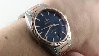 Omega Constellation Globemaster (BLUE/SEDNA GOLD) 130.20.39.21.03.001 Luxury Watch Review
