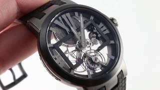 Ulysse Nardin Executive Skeleton Tourbillon 1713-139 Luxury Watch Review