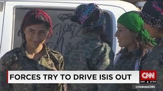 All female Kurdish unit takes on ISIS
